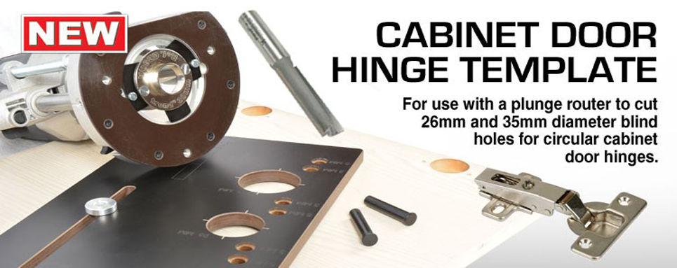 Cabinet Door Hinge Template