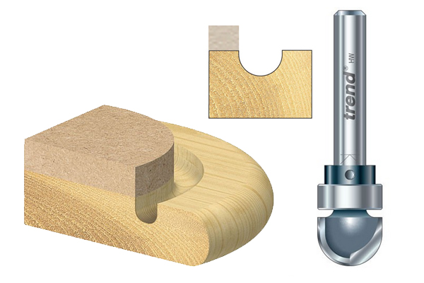 what are trend radius router cutters. Black Bedroom Furniture Sets. Home Design Ideas